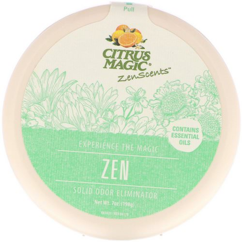 Citrus Magic, ZenScents, Zen, 7 oz (198 g) Review