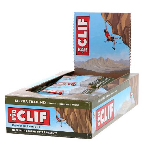 Clif Bar, Energy Bar, Sierra Trail Mix, 12 Bars, 2.40 oz (68 g) Each Review