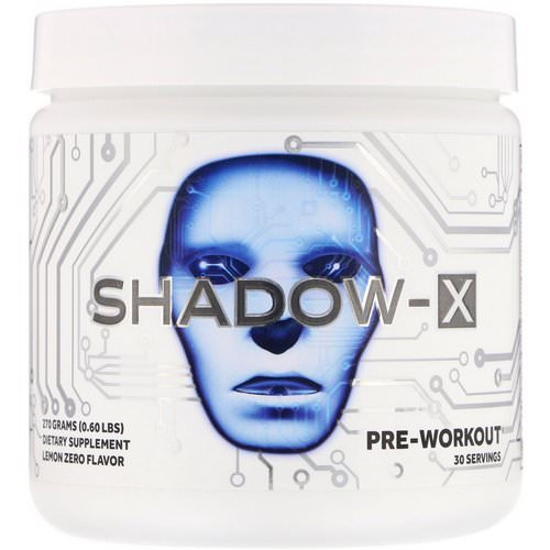 JNX Sports, Shadow-X, Pre-Workout, Lemon Zero, 0.60 lbs (270 g) Review