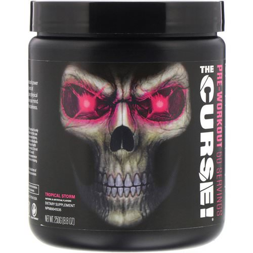 JNX Sports, The Curse, Pre Workout, Tropical Storm, 8.8 oz (250 g) Review