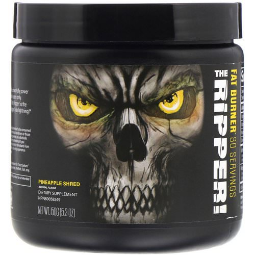 JNX Sports, The Ripper, Fat Burner, Pineapple Shred, 5.3 oz (150 g) Review