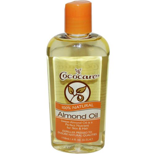 Cococare, 100% Natural Almond Oil, 4 fl oz (118 ml) Review