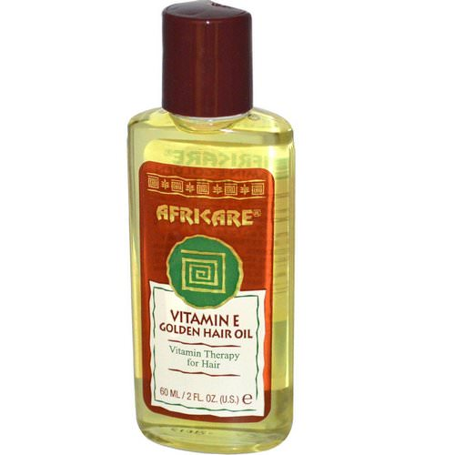 Cococare, Africare, Vitamin E Golden Hair Oil, 2 fl oz (60 ml) Review