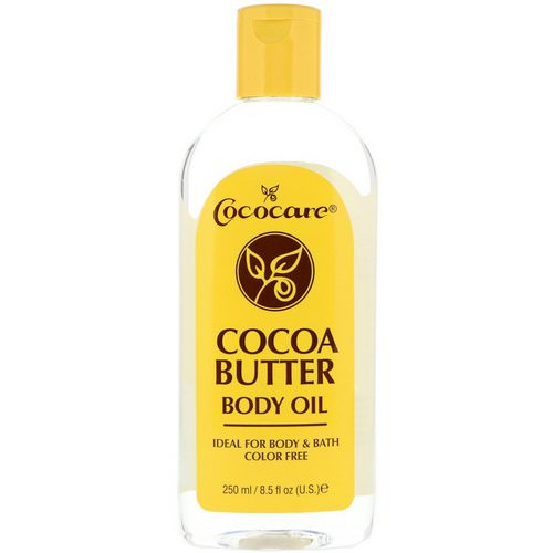 Cococare, Cocoa Butter Body Oil, 8.5 fl oz (250 ml) Review