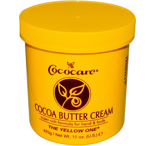 Cococare, The Yellow One, Cocoa Butter Cream, 15 oz (425 g) Review