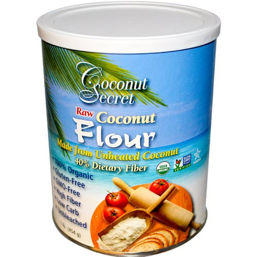 Coconut Secret, Raw Coconut Flour, 1 lb (454 g) Review