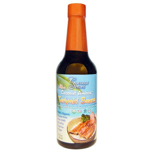 Coconut Secret, Teriyaki Sauce, Coconut Aminos, 10 fl oz (296 ml) Review