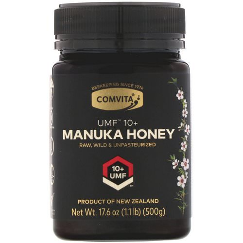 Comvita, Manuka Honey, UMF 10+, 17.6 oz (500 g) Review