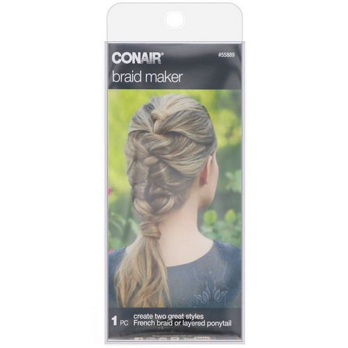 Conair, Braid Maker for French Braid or Layered Ponytail, 1 Piece Review