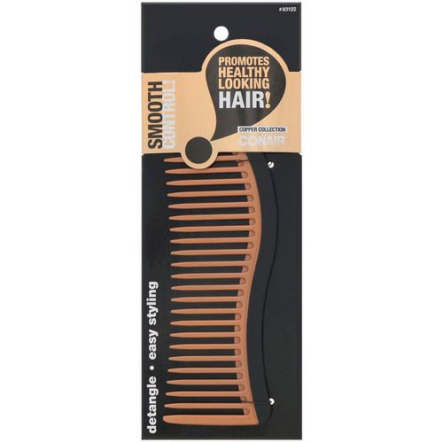 Conair, Copper Collection, Detangling Comb, 1 Comb Review