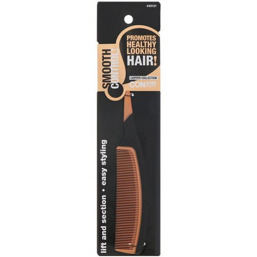 Conair, Copper Collection, Lift and Section, Tail Comb, 1 Comb Review