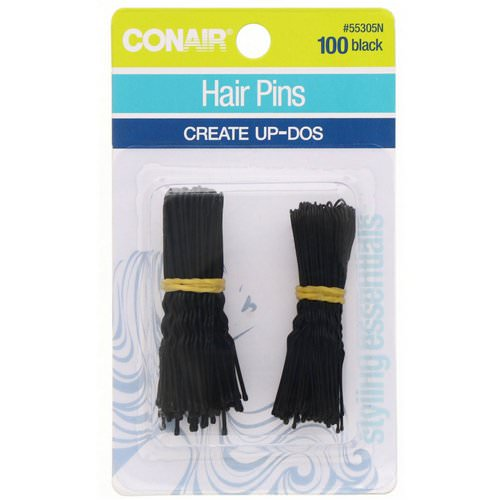 Conair, Hair Pins, Create Up-Dos, Black, 100 Pieces Review
