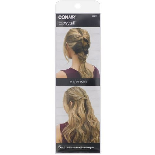 Conair, Topsytail, 5 Pieces Review