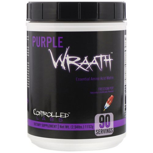 Controlled Labs, Purple Wraath, Freedom Pop, 2.54 lbs (1152 g) Review