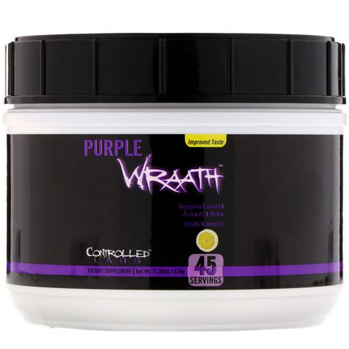 Controlled Labs, Purple Wraath, Purple Lemonade, 1.26 lbs (576 g) Review