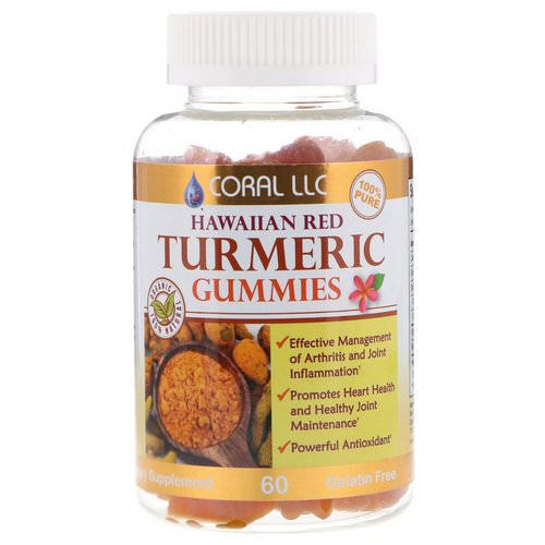 CORAL LLC, Hawaiian Red Turmeric Gummies, 60 Gummies Review