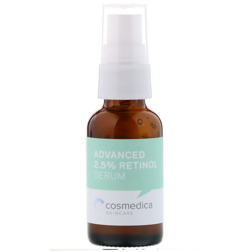 Cosmedica Skincare, Advanced 2.5% Retinol Serum, 1 oz (30 ml) Review