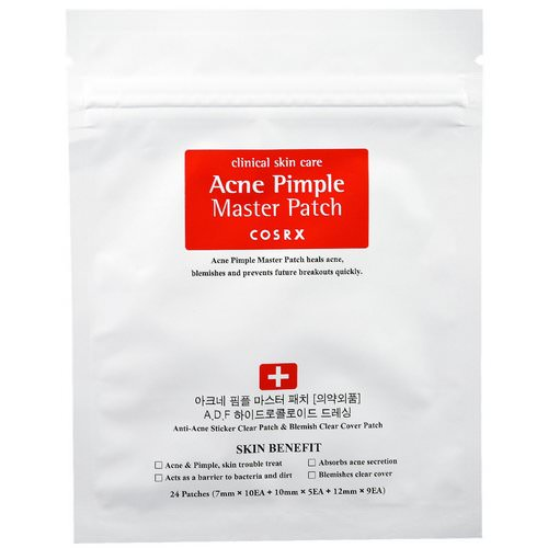 Cosrx, Acne Pimple Master Patch, 24 Patches Review