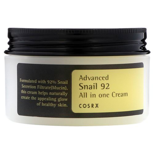 Cosrx, Advanced Snail 92, All in One Cream, 100 ml Review