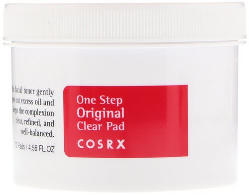 Cosrx, One Step Pimple Clear Pad, 70 Pads, (4.56 fl oz) Review
