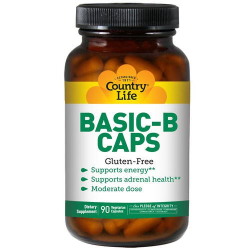 Country Life, Basic-B Caps, 90 Veggie Caps Review