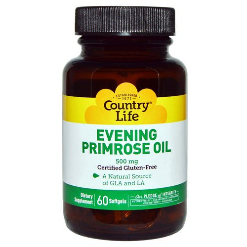 Country Life, Evening Primrose Oil, 500 mg, 60 Softgels Review