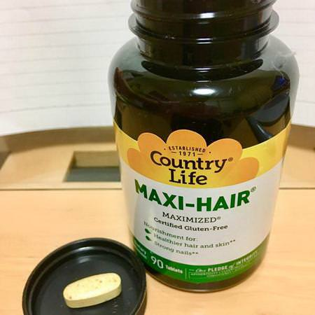 Country Life Supplements Hair Skin