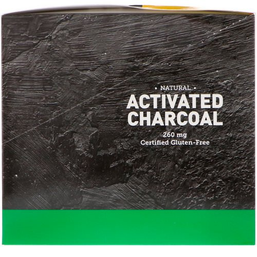 Country Life, Natural Activated Charcoal, 260 mg, 20 Packets, 2 Capsules Each Review