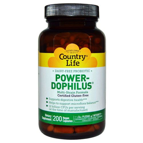 Country Life, Power-Dophilus, 200 Vegan Caps Review