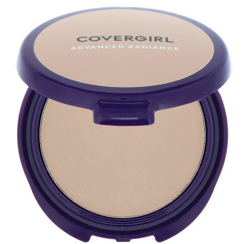 Covergirl, Advanced Radiance, Age-Defying, Pressed Powder, 110 Creamy Natural, 0.39 oz (11 g) Review