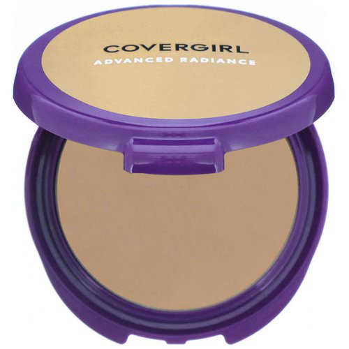 Covergirl, Advanced Radiance, Age-Defying, Pressed Powder, 120 Natural Beige, .39 oz (11 g) Review