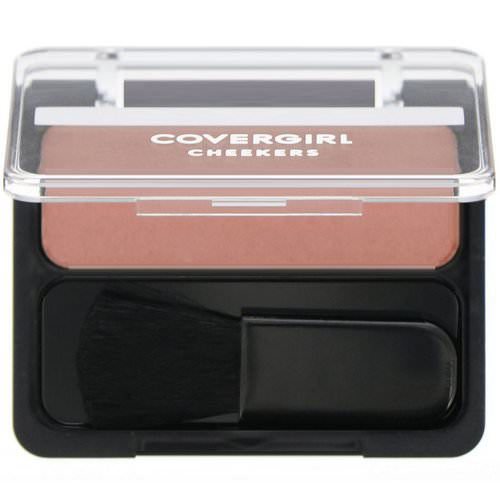 Covergirl, Cheekers, Blush, 105 Rose Silk, .12 oz (3 g) Review