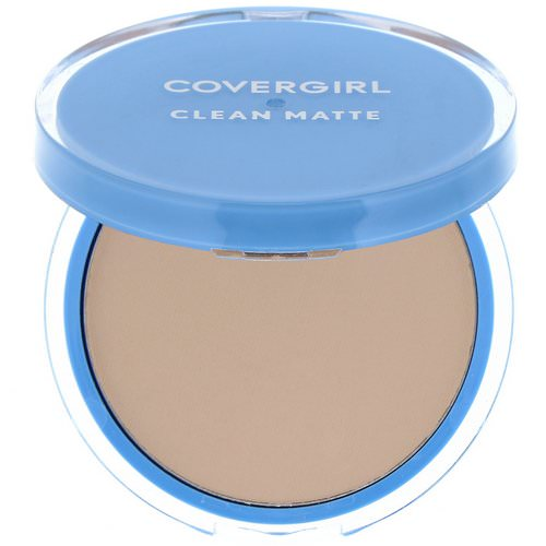 Covergirl, Clean Matte, Pressed Powder, 525 Buff Beige, .35 oz (10 g) Review