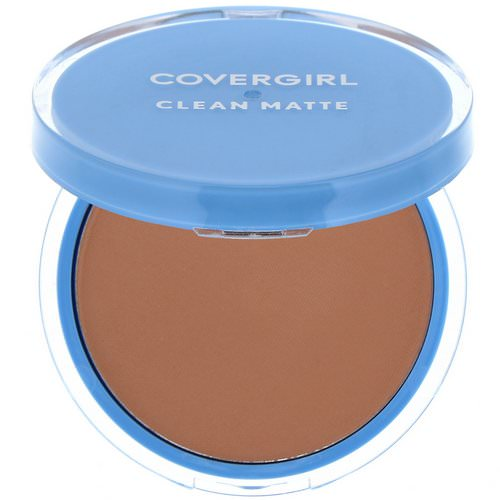 Covergirl, Clean Matte, Pressed Powder, 545 Warm Beige, .35 oz (10 g) Review