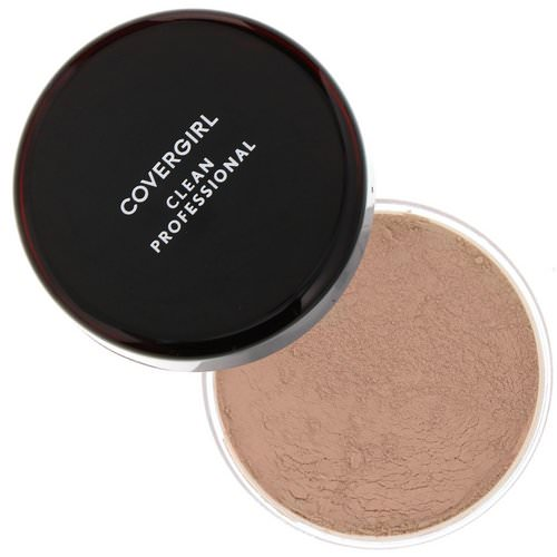Covergirl, Clean Professional, Loose Powder, 110 Translucent Light, .7 oz (20 g) Review