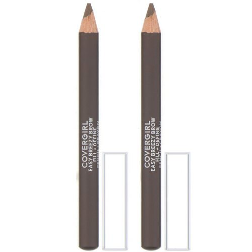 Covergirl, Easy Breezy, Brow Fill + Define Pencil, 510 Soft Brown, 0.06 oz (1.7 g) Review