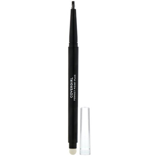 Covergirl, Perfect Point Plus, Eye Pencil, 200 Black Onyx, .008 oz (0.23 g) Review