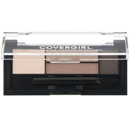 Covergirl, Quad Palettes Eye Shadow, 700 Notice Me Nudes, .06 oz (1.8 g) Review