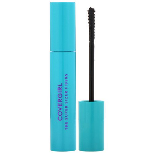 Covergirl, The Super Sizer Fibers, Mascara, 800 Very Black, .4 fl oz (12 ml) Review
