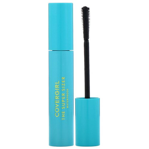 Covergirl, The Super Sizer, Waterproof Mascara, 825 Very Black, .4 fl oz (12 ml) Review