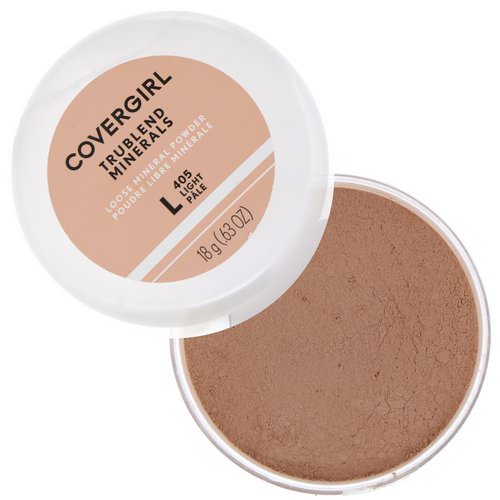 Covergirl, Trublend, Loose Mineral Powder, 405 Light, .63 oz (18 g) Review