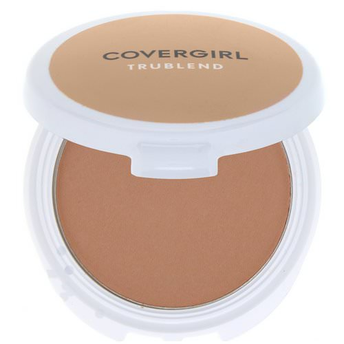Covergirl, TruBlend, Mineral Pressed Powder, Translucent Honey, .39 oz (11 g) Review