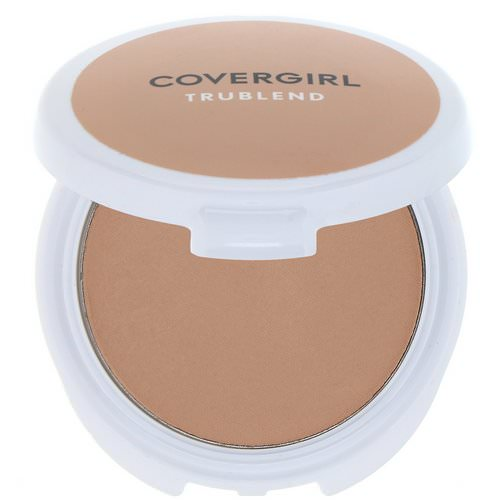 Covergirl, TruBlend, Mineral Pressed Powder, Translucent Medium, .39 oz (11 g) Review