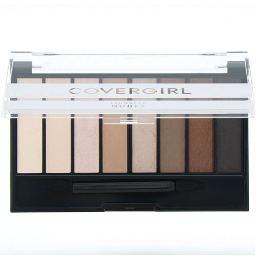 Covergirl, Trunaked, Eyeshadow Palette, Nudes, .23 oz (6.5 g) Review