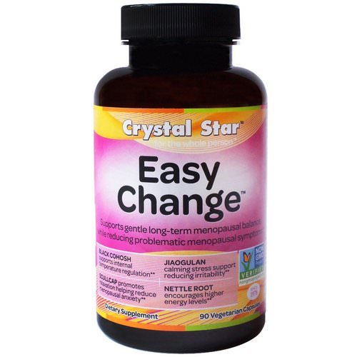 Crystal Star, Easy Change, 90 Veggie Caps Review