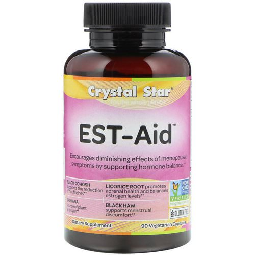 Crystal Star, EST-Aid, 90 Vegetarian Capsules Review