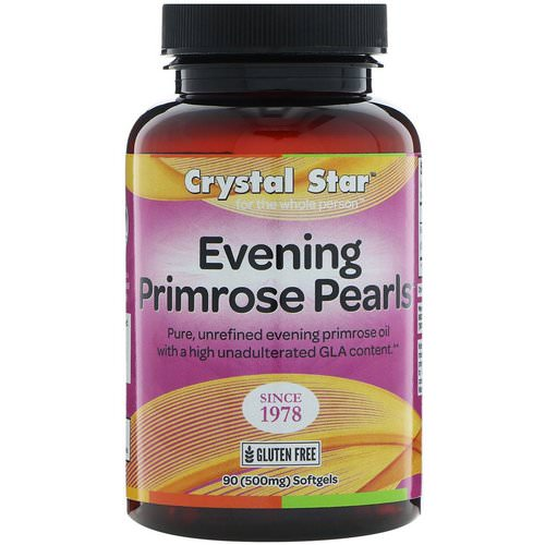 Crystal Star, Evening Primrose Pearls, 500 mg, 90 Softgels Review