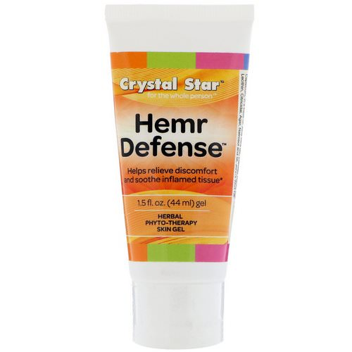 Crystal Star, Hemr Defense Gel, 1.5 fl oz (44 ml) Review