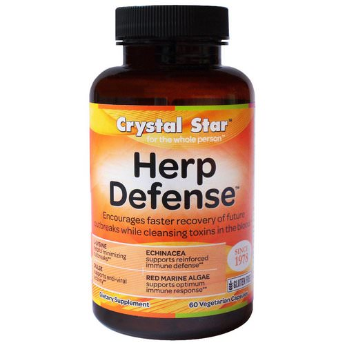 Crystal Star, Herp Defense, 60 Veggie Caps Review