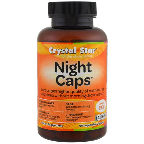 Crystal Star, Night Caps, 60 Veggie Caps Review